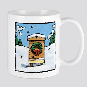 Christmas Bees Mug