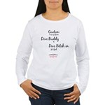 *NEW* Dive Bitch 30' Women's Long Sleeve T-Shirt