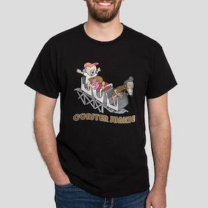 Roller Coaster Junkie Dark T-Shirt
