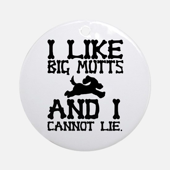 'Big Mutts' Ornament (Round)