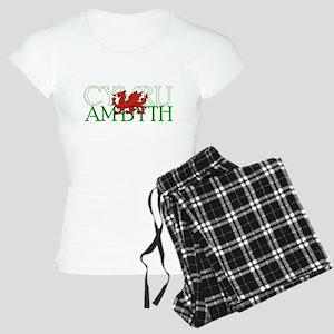 Cymru Am Byth Women's Light Pajamas