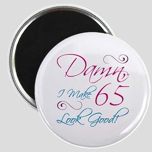 65th Birthday Humor Magnet