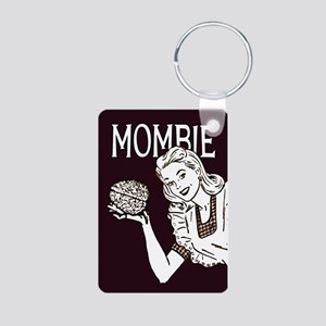 Mombie ~ Zombie Mother Aluminum Photo Keychain