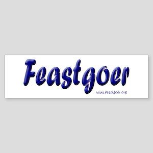 World Traveling Feastgoer Bumper Sticker