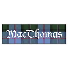 Tartan - MacThomas Sticker (Bumper)
