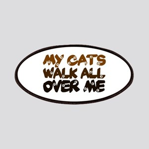 'Walk All Over Me' Patches