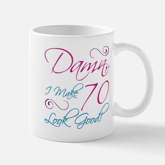 70th Birthday Humor Mug