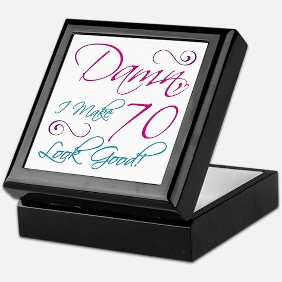 70th Birthday Humor Keepsake Box
