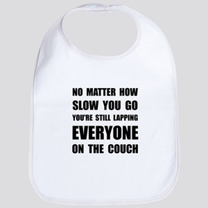Lapping The Couch Bib
