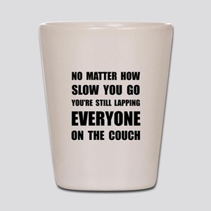 Lapping The Couch Shot Glass