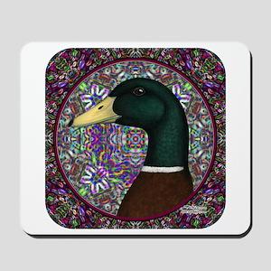 Mallard Circle Mosaic Mousepad