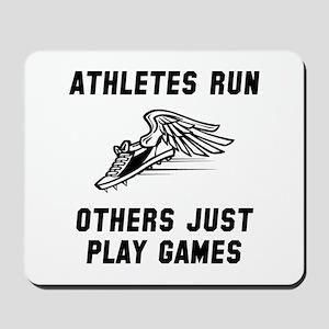 Athletes Run Mousepad