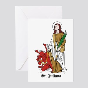 St. Juliana Greeting Cards (Pk of 10)