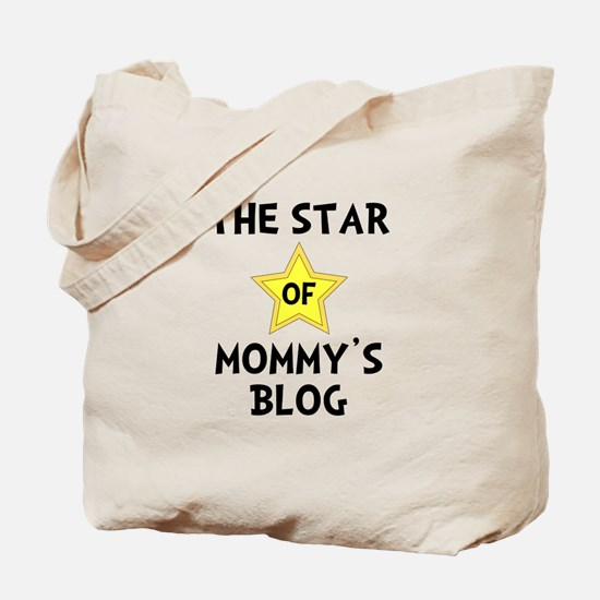 Mommy's Blog Star Tote Bag