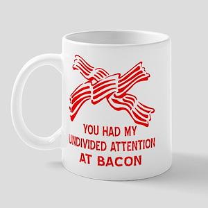 Undivided Attention At Bacon Mug
