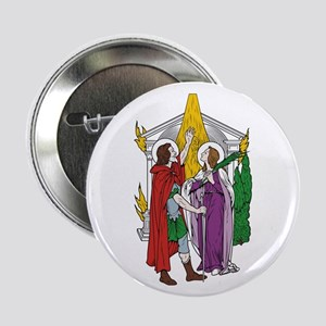 "St. Julian and Basilissa 2.25"" Button (10 pack)"