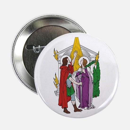 "St. Julian and Basilissa 2.25"" Button (10 pack)"