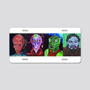 Aliens of Star Trek Aluminum License Plate