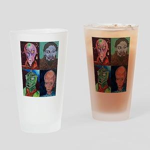 Aliens of Star Trek Drinking Glass