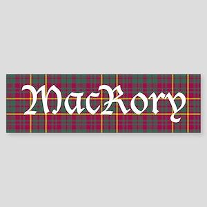 Tartan - MacRory Sticker (Bumper)