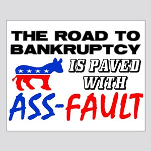 """""""Road To Bankruptcy"""" Poster"""