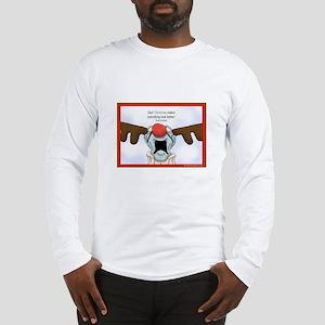 Zombie Christmas Long Sleeve T-Shirt