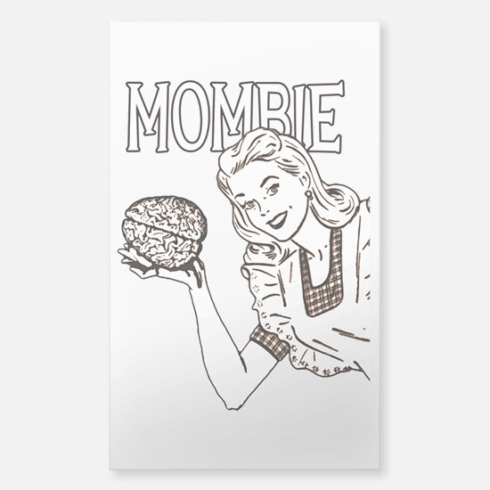 Mombie ~ Zombie Mother Sticker (Rectangle)