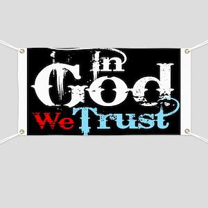 In God We Trust! Banner