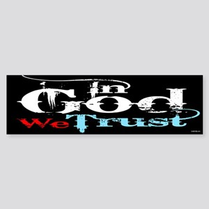 In God We Trust! Sticker (Bumper)