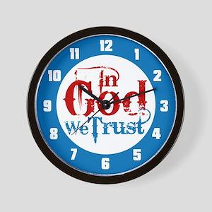In God We Trust! Wall Clock