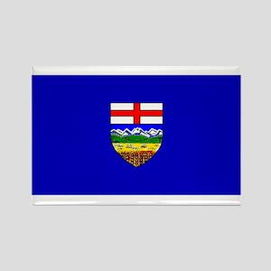 Alberta Albertan Blank Flag Rectangle Magnet