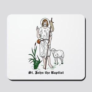 St. John the Baptist Mousepad
