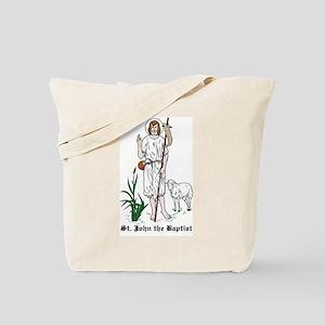 St. John the Baptist Tote Bag