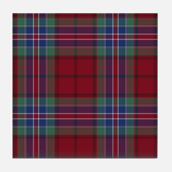 Tartan - MacRae of Ardentoul Tile Coaster