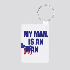 My Man Ass Man Aluminum Photo Keychain