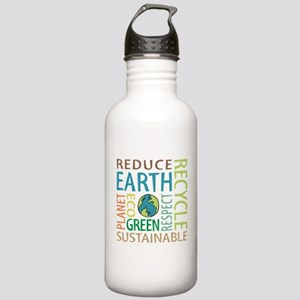 Earth Day Stainless Water Bottle 1.0L