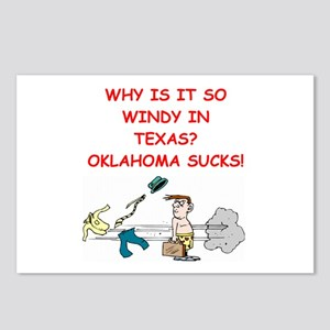 i hate oklahoma Postcards (Package of 8)