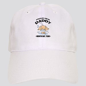 Personalize Proud New Daddy Cap