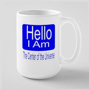 center of universe Large Mug