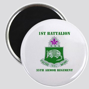 DUI - 1st Bn - 35th Armor Regt with Text Magnet