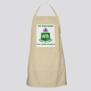 DUI - 1st Bn - 35th Armor Regt with Text Apron