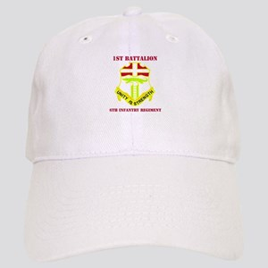 DUI - 1st Bn - 6th Infantry Regt with Text Cap