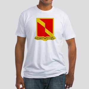 DUI - 4th Bn - 27th FA Regt Fitted T-Shirt