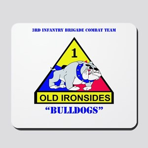 DUI - 3rd Infantry BCT with Text Mousepad