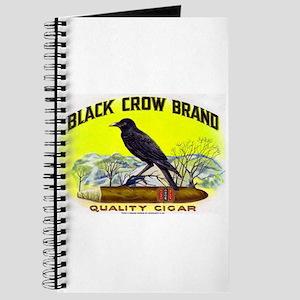 Black Crow Cigar Label Journal