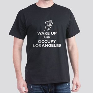 Occupy Los Angeles Dark T-Shirt