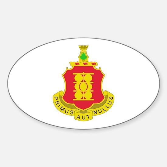 DUI - 4th Bn - 1st FA Regt Sticker (Oval)