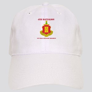 DUI - 4th Bn - 1st FA Regt with Text Cap