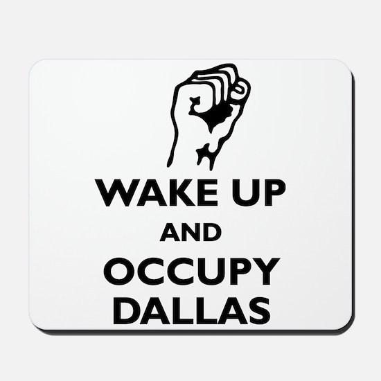 Occupy Dallas Mousepad
