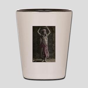 Vintage Tribal Bellydance Gir Shot Glass